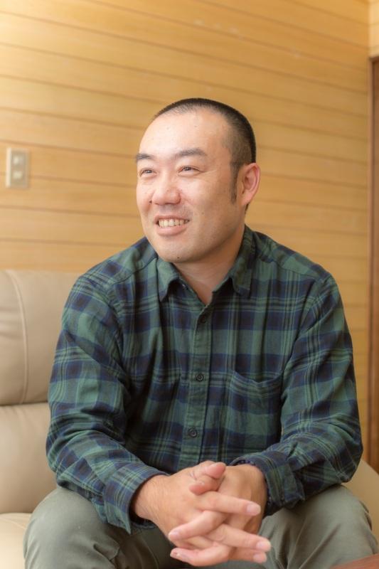 代表取締役 野々山拓也 写真